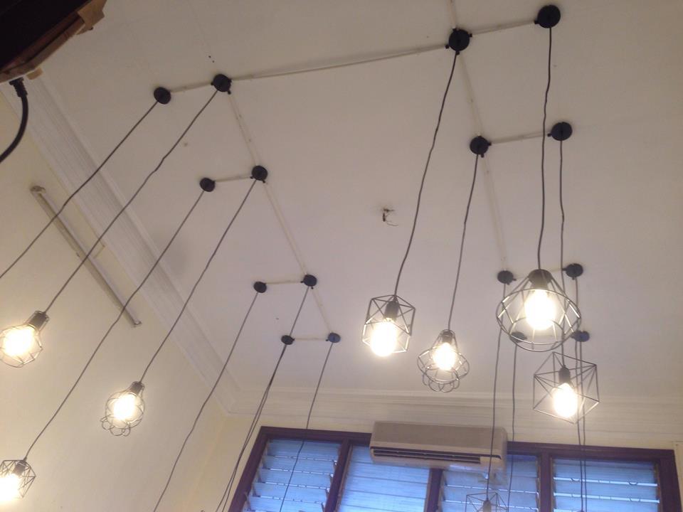 lắp đèn điện nhà hàng 3