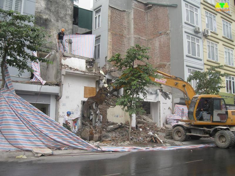 Dịch vụ phá dỡ nhà, công trình giá rẻ tại Hà Nội.