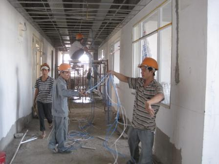 Lắp đặt điện nước nhà dân quận Long Biên