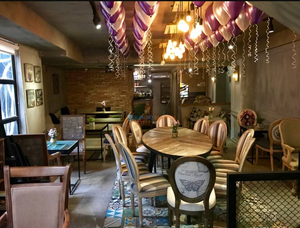 Thi công điện nước, đèn trang trí quán cà phê quận Hoàng Mai