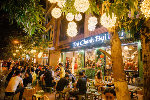 Thi công trọn gói quán trà chanh giá rẻ tại Hà Nội
