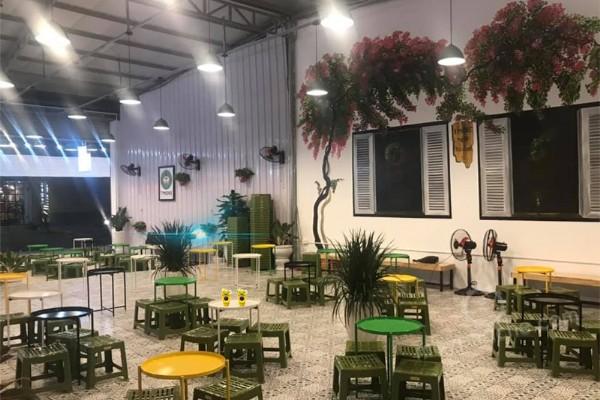 Thi công trọn gói tiệm trà chanh giá rẻ tại Hà Nội