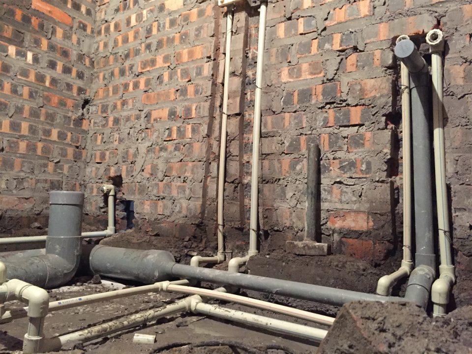 đặt hệ thống điện nước ngầm cho nhà dân quận Hoàn Kiếm