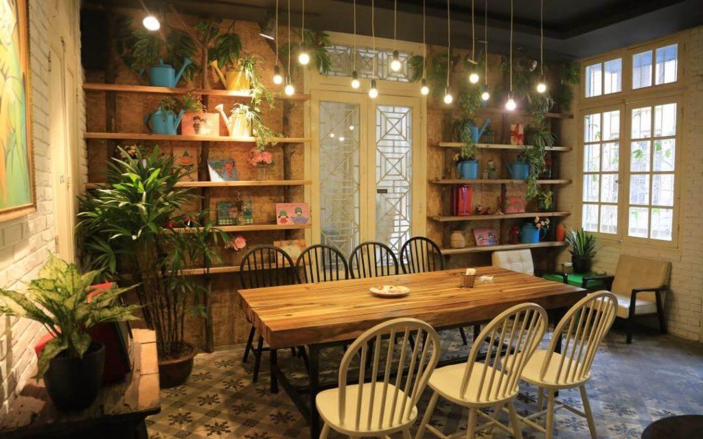 Lắp đặt đèn Led, đèn trang trí quán cà phê quận Đống Đa
