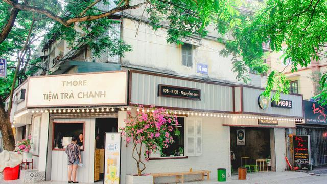 Thiết kế, thi công tiệm trà chanh giá rẻ quận Hoàn Kiếm