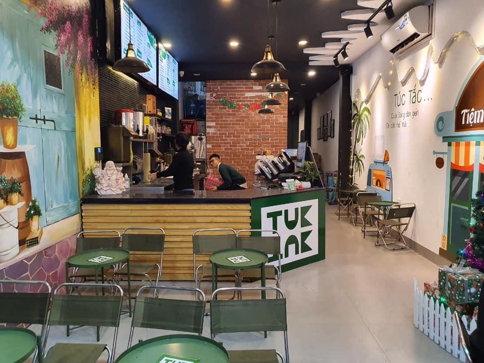 Thiết kế, thi công tiệm trà chanh quận Long Biên