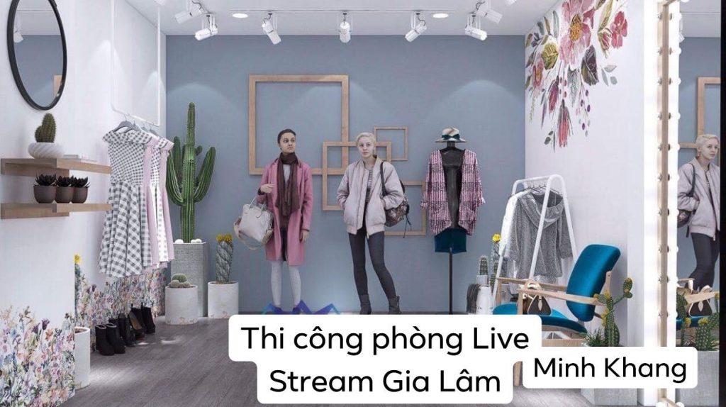 Chuyên setup phòng livestream giá rẻ tại Hà Nội