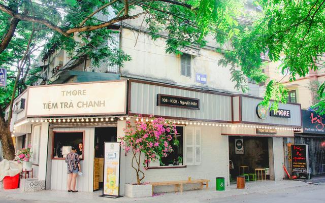 Thiết kế, thi công tiệm trà chanh quận Cầu Giấy giá rẻ