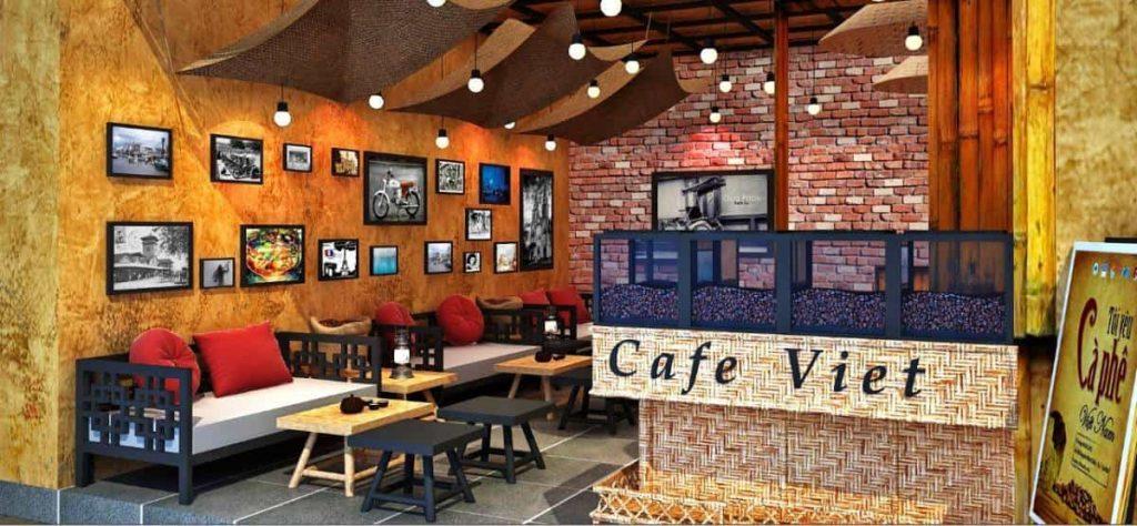 Sửa chữa điện nước, hệ thống đèn chiếu sáng cho quán cà phê quận Long Biên