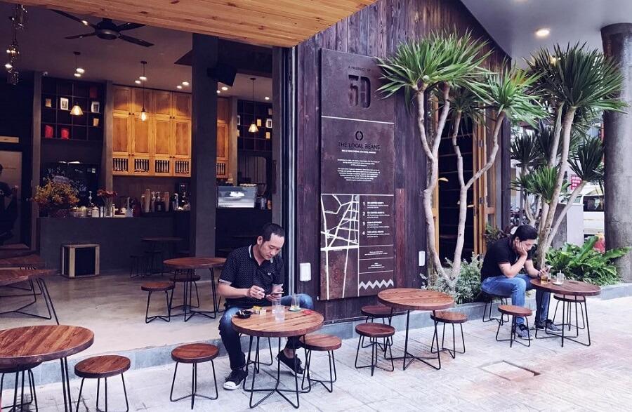 Thiết kế nội thất quán cafe, quán trà sữa tại Hà Nội