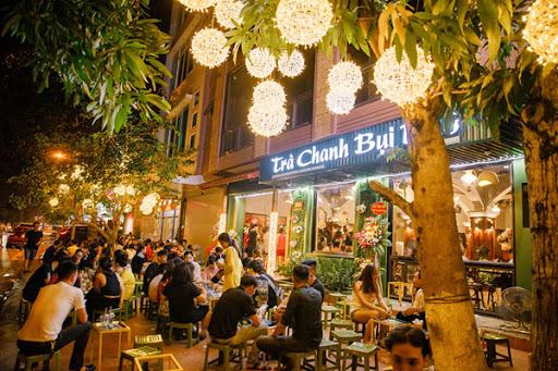 Thiết kế, thi công trọn gói quán cà phê, trà chanh quận Hoàn Kiếm